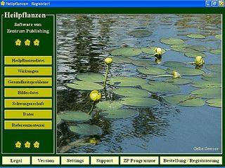 Heilpflanzen Software: Heilpflanzen, Eigenschaften, Krankheiten
