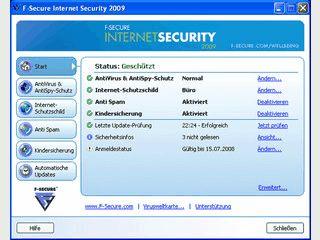 Bietet Schutz vor allen Internet-Bedrohungen.
