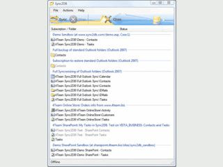 Synchronisation von MS Outlook mitjeder beliebigen SQL Datenbank.