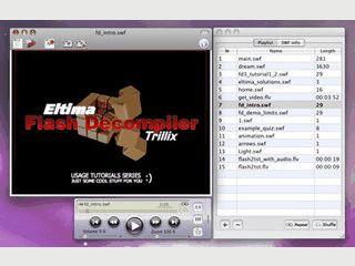 Stand-Alone Player für Flashdateien der Formate SWF und FLV