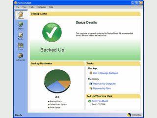 Backup und Wiederherstellung kompletter Festplatten, einzelner Dateien und Ordne