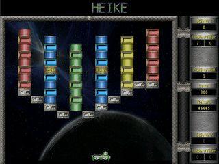 Variante des Breakout-Klassikers mit 500 Level und Level-Editor.