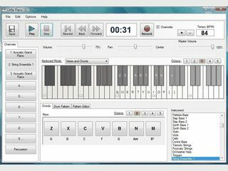 Digitales Piano für Ihren Computer.