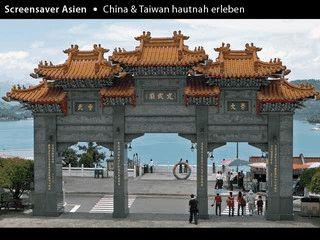 Screensaver mit Impressionen und Landschaftsaufnahmen aus Asien.