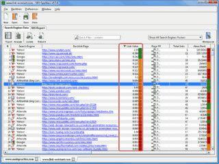 Softwarepaket mit verschiedenen Einzeltools zur Suchmaschinen-Optimierung,