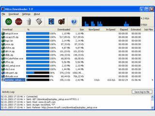 Dateien schnell und sicher aus dem Internet downloaden.