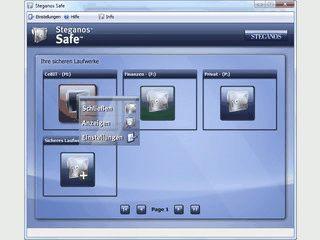 Der Gratis-Safe für Ihre Daten. Mit Passwort-Generator und Steganos PicPass.
