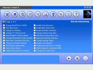 Tweaking Utilitie für das DFUE Netzwerk und die Web-Browser.