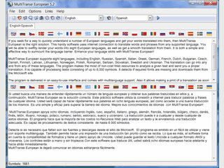Online-Übersetzung in und aus vielen verschiedenen europäischen Sprachen