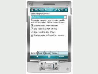 Aufnahme von Telefonaten mit Windows Mobile Geräten.