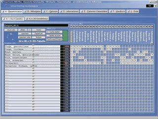 Homöopathie-Software zur Repertorisation.