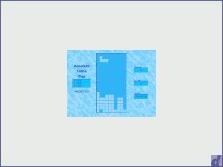 Interaktiver Tetris Bildschirmschoner. Sie können zusehen oder selbst spielen.