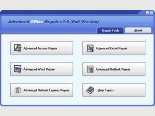 Reparatur von zerstörten Microsoft Office Dokumenten.