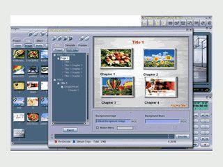 MPEG Video-Editor und DVD-Brennsoftware.