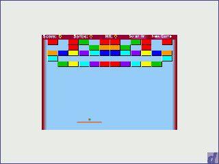 Einfacher Arcanoid Clone der in Flash programmiert wurde.