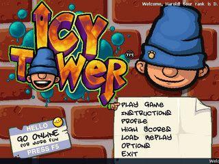 Icy Tower ist ein lustiges und kurzes, aber extrem süchtig machendes Spiel.