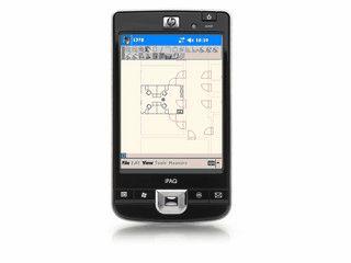 Vermessung und Anfertigung von Grundriss-Skizzen mit dem PDA.