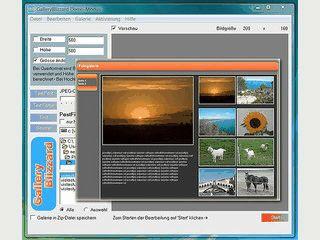 Fotogalerien für das Internet ohne HTML-Kenntnisse erstellen