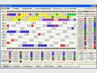 Elektronische Zeiterfassung, Urlaubsplanung inkl. Projektzeiten und BDE