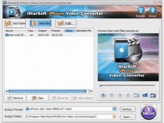konvertiert Videos aus gängigen Formaten für das iPhone.