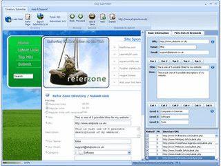 Semi-Automatische Eintragung Ihrer Webseite in Webkataloge.