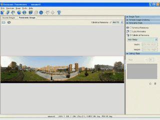 Sphärische und kubische Panoramabilder zusammenfügen und exportieren.