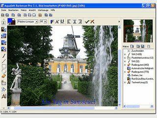 Verwaltung und Batchverarbeitung von Bildern.