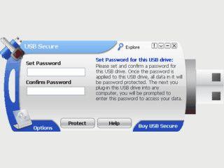 Zugriffsschutz für USB-Sticks und Wechseldatenträger durch Passwortschutz