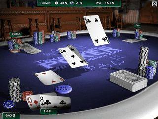 3D Pokerspiel mit Einzelspiel, Turnier, Multiplayer, Tutorial