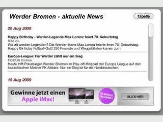 News, Spielpläne und Tabellen der 1. und 2. Fußball Bundesliga