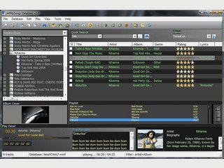 Verwaltung für Audio-CDs und Audio-Dateien.