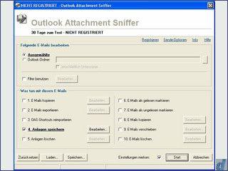 Anlagen und Emails aus Outlook automatisch extrahieren