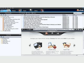 Internetsuche, Nachrichten-Reader und Podcast-Player.