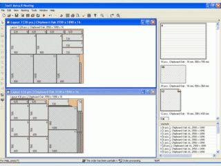 Software zur Berechnung des optimalen Beschnitts von Plattenware.