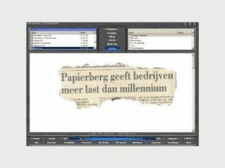 Verwaltung für gescannte Dokumente mit Suchfunktion.