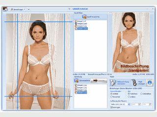 FotoCut bereitet Bilder für die Präsentation an einem Bildschirm vor.