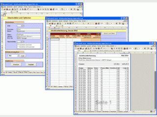 Auf MS Excel basierendes Kassenbuch für die Praxisgebühr.