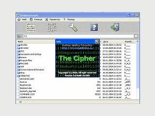 Software zur Ver- und Entschlüsselung von Dateien mit bekannten Methoden.