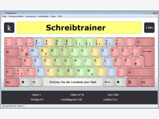 Tippen lernen mit einem der besten Lernprogramme f�r das 10-Fingersystem
