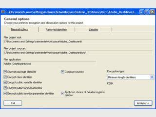 Verschlüsselung, bzw. Verschleierung des Quellcodes von Flash und Flex.