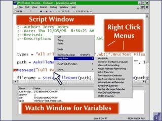 Scriptsprache für Windows zur Automatisierung. Erstellt auch EXE Dateien.