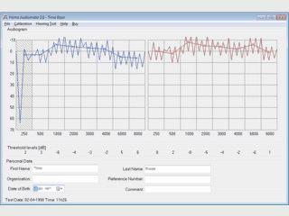 Verwandelt Ihren PC in ein Audiometer für Gehörtests.