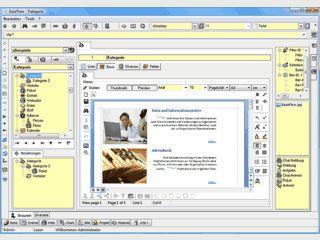 Software mit der sich beliebige Daten strukturiert verwalten lassen.