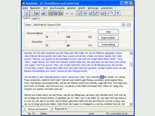 Sprachausgabe von Texten und Umwandlung von Texten in Audio-Dateien.