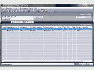 Dient zur Verwaltung bzw. zum schnellen Auffinden von Produkt-Katalogen.