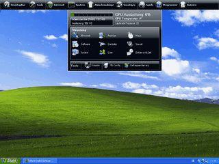 Zusätzliche Leiste für den Desktop mit zahlreichen Funktionen.