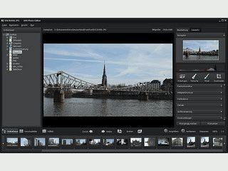 Fotos bearbeiten und verbessern, Bildräusche vermindern, Effekte anwenden.