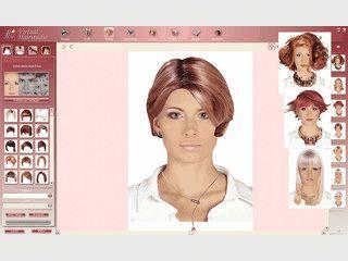 Virtual Hairstudio - viele Frisuren und Styles am eigenen Foto anprobieren