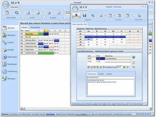 Flexible Zeiterfassung von Arbeits-, Projekt-, Fehlzeiten usw.