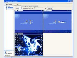 Software mit der die Bildschirminhalte anderer Computer überwacht werden können.